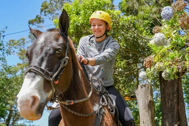 Martin Horseback Ridin