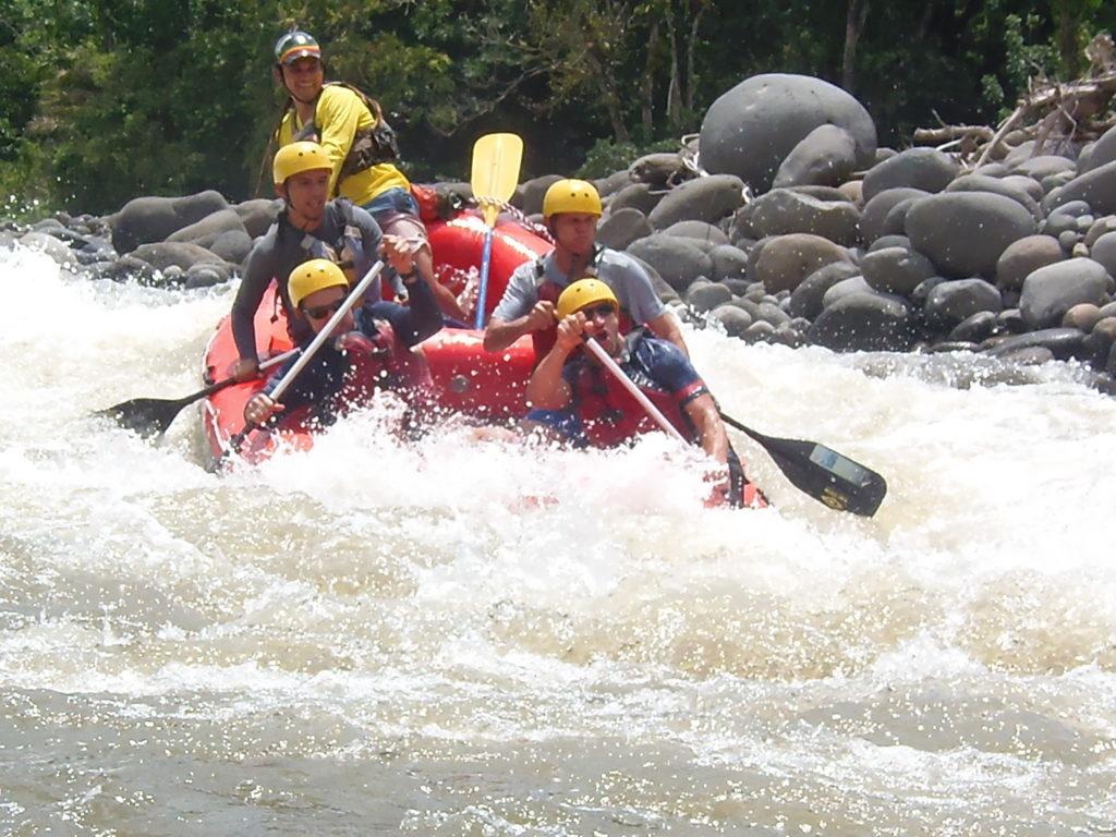 rafting from monteverde