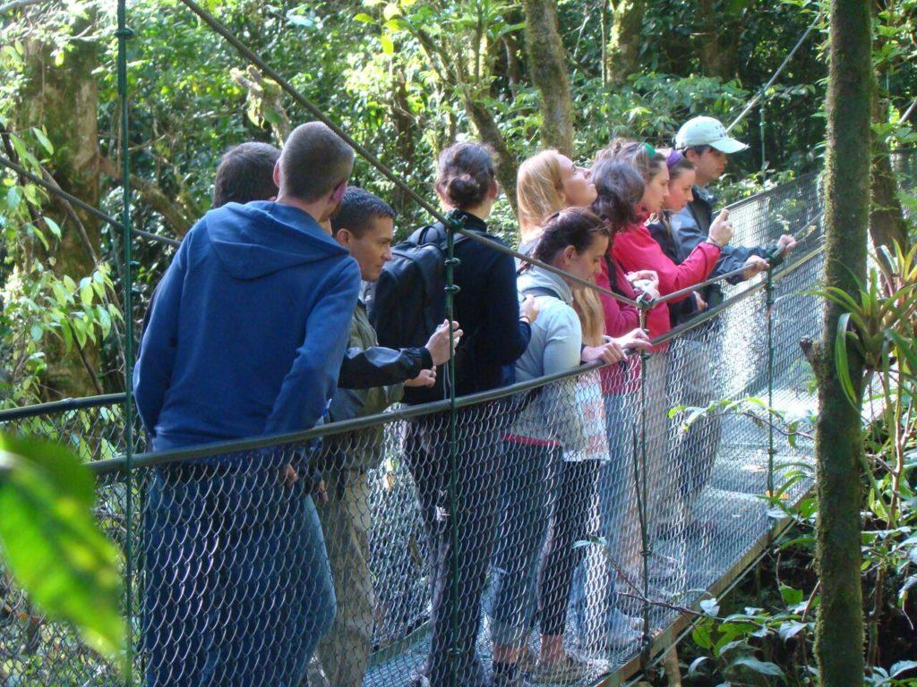 100% Aventura Hanging Bridges Monteverde
