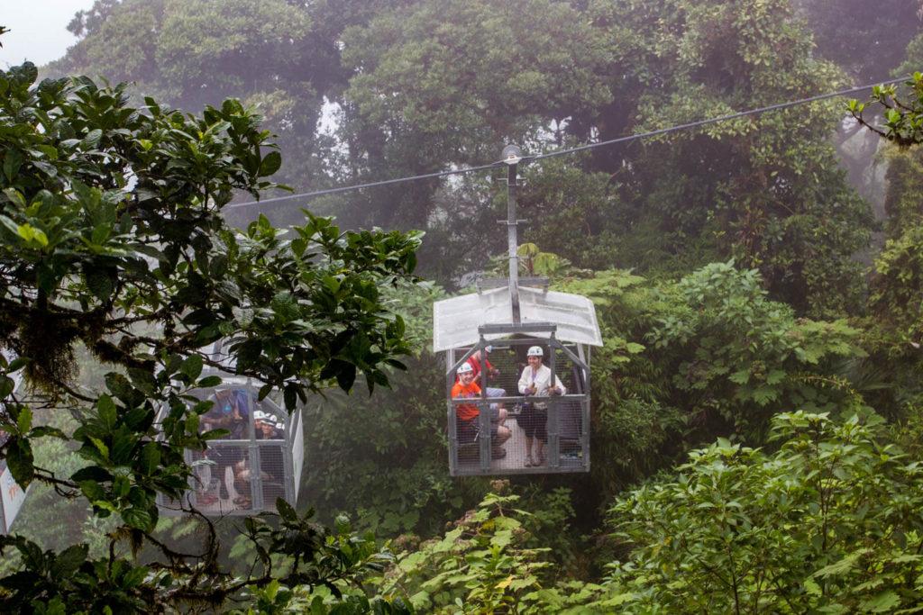 Combo Puentes colgantes y Teleférico Monteverde.