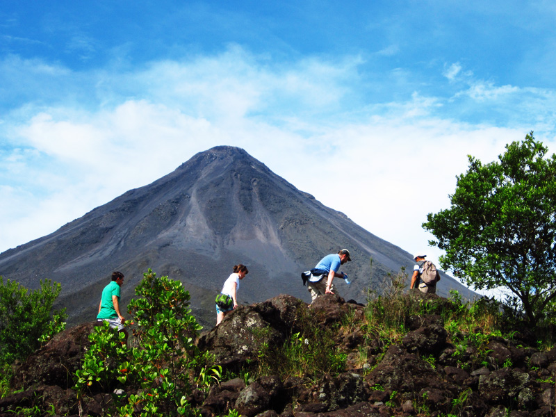 Arenal Volcano Hiking Tours La Fortuna Costa Rica