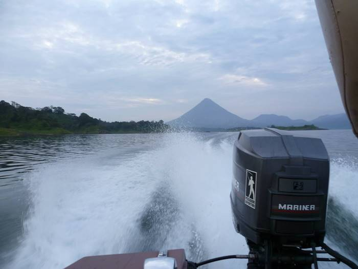Fishing Arenal Lake Costa Rica