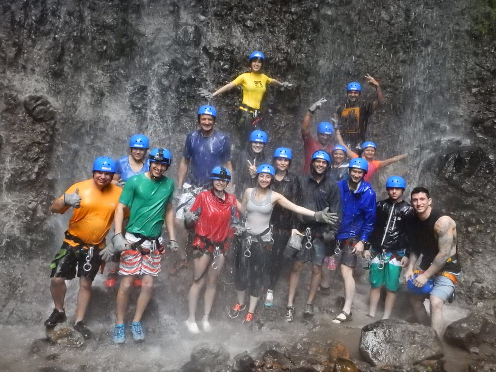 Waterfall Rappelling Arenal Volcano