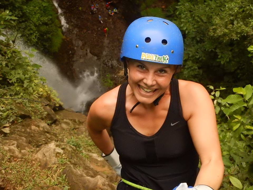 Arenal La Fortuna Waterfall rappelling Tour