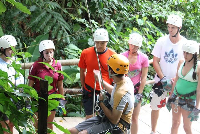 Waterfall Rappelling La Fortuna Arenal Costa Rica