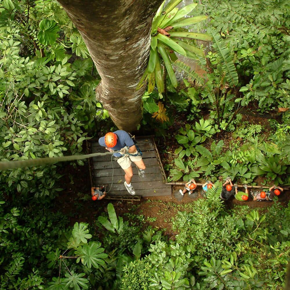 Zip Line Canopy Tour Manuel Antonio Quepos Costa Rica 0o