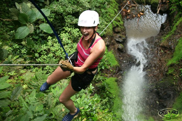canyoneering and rafting la fortuna arenal volcano 1