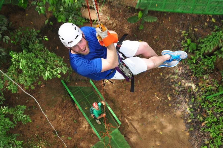 Zip Line Canopy Tour Manuel Antonio Quepos