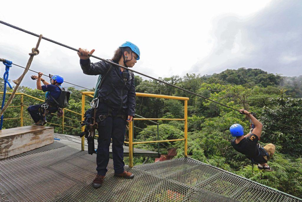 Arenal Volcano Zip Line Canopy Tour