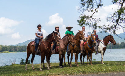 Horseback Riding from La Fortuna to Monteverde