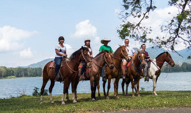 Horseback Riding from La Fortuna to Monteverde