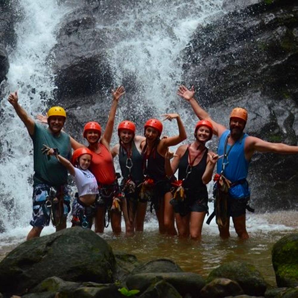 Manuel Antonio Waterfall Rapelling Canyoning