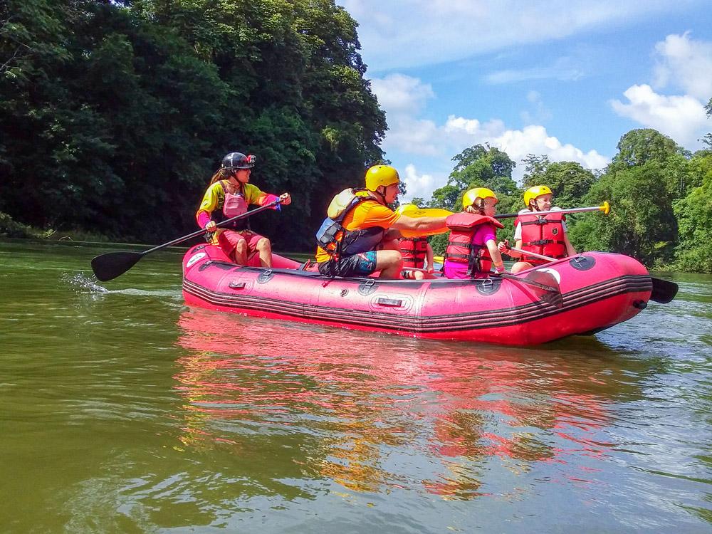 Family Boat Trip La Fortuna Costa Rica