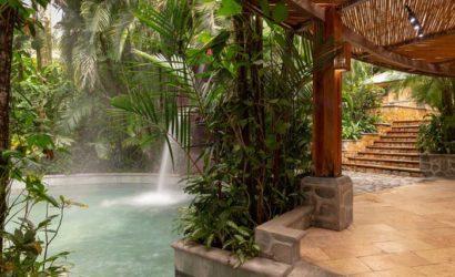 Baldi Hot Springs La Fortuna Costa Rica Arenal Volcano