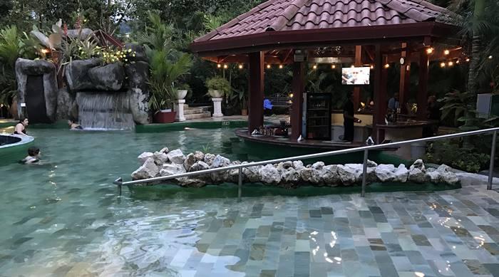 Paradise hot springs la fortuna arenal volcano costa rica