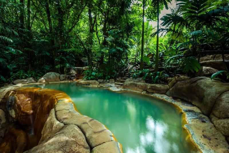 The Springs La Fortuna Arenal Volcano Costa Rica