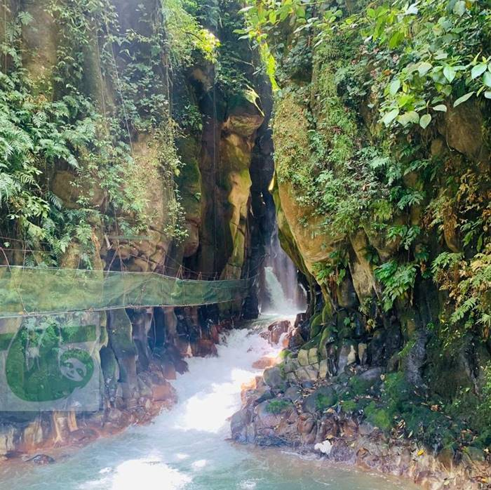 El Santuario or Cathedral Waterfall, Catarata Costa Rica