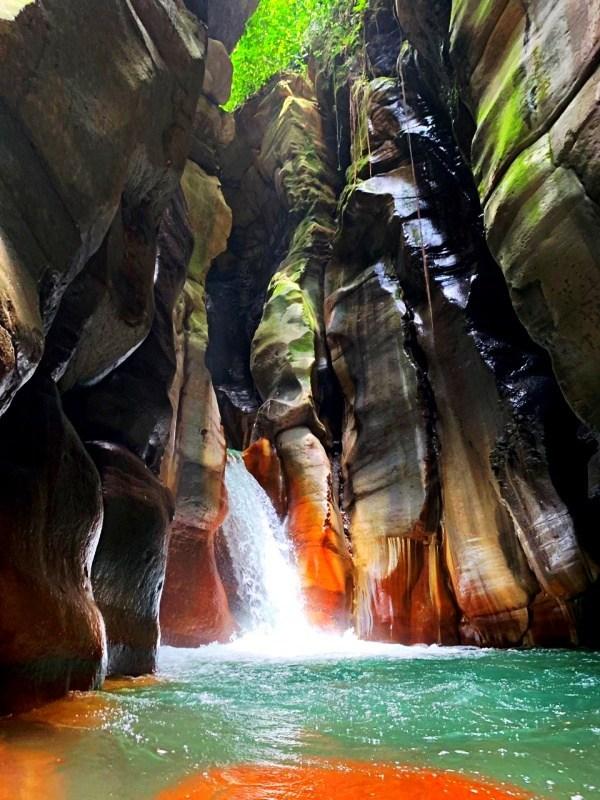 El Santuario Waterfall Costa Rica