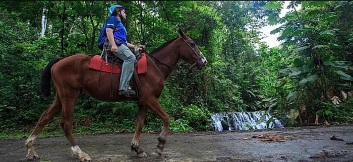 Horseback Riding to La Fortuna Waterfall Costa Rica