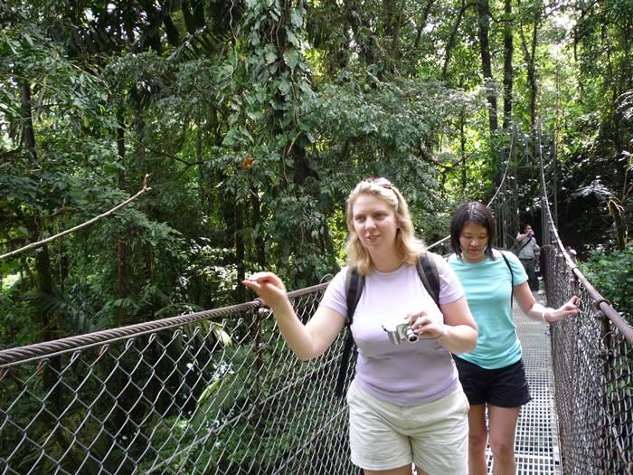 La Fortuna Hanging Bridges Arenal Volcano Costa Rica