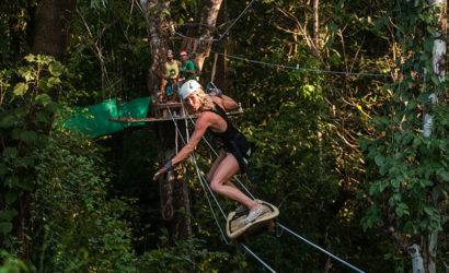 Zip Line Canopy Tour from Santa Teresa Costa Rica