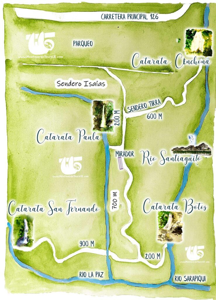 Catarata Cinchona Costa Rica